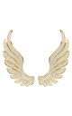 GABRIEL ANGEL WING EAR CLIMBER GOLD for RIGHT EAR by Latelita