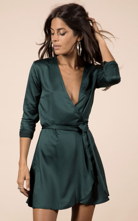 Marley Dress In Pine Green by Dancing Leopard Product photo