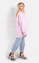 Baby pink oversized cosy winter Jumper/Dress by The Left Bank