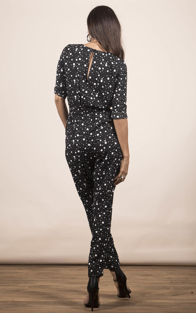 ZION JUMPSUIT IN SPECKLE PRINT image