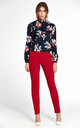 Classic pants - red by so.Nife
