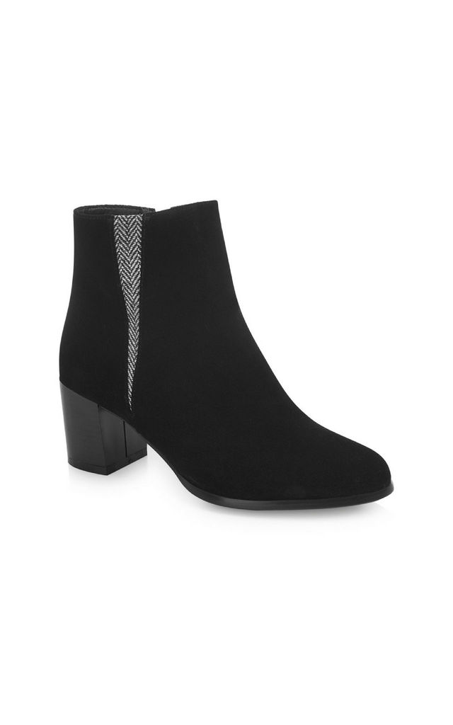 Gloucester Black Suede Boots by Yull Shoes