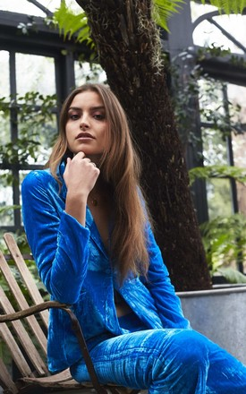 Electric Blue Palazzo by abella London