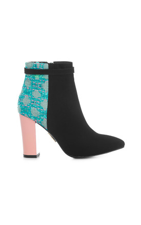 Wrexham Juniper Heeled Boots by Yull Shoes