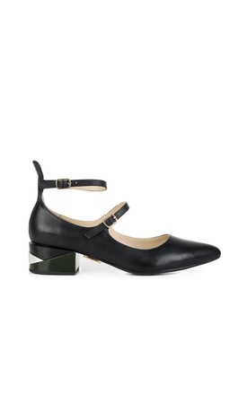 Westminster Pine Low Heels by Yull Shoes