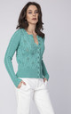 Classic sweater - green by MKM Knitwear Design