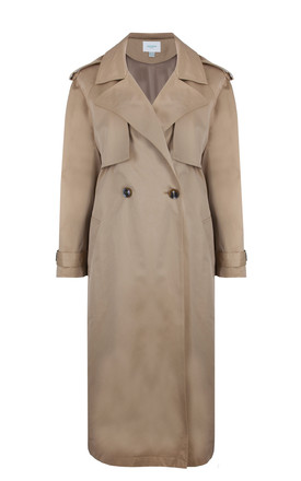 AZIZA TRENCH COAT – BEIGE by Jovonna London