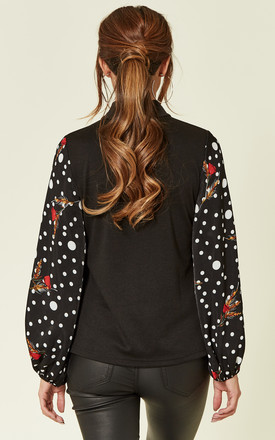 Florence Long Sleeve Polka Dot Top by Once Upon a Time