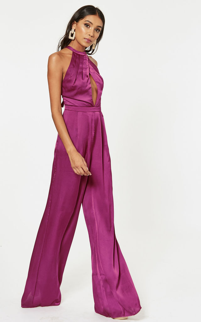 Berry Nico Jumpsuit by The Jetset Diaries