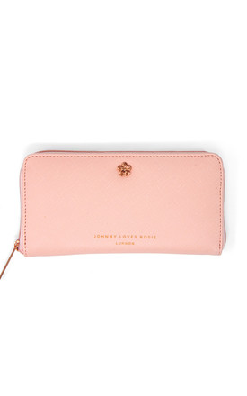 Floral Jewelled Purse in Blush Pink by Johnny Loves Rosie
