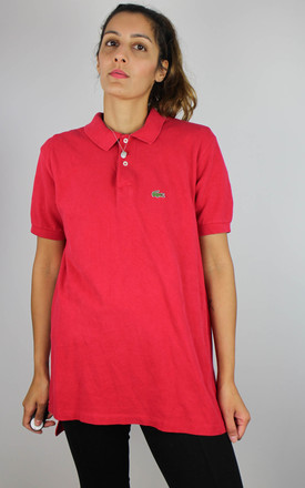 Vintage Lacoste Tshirt Top with Logo by Re:dream Vintage