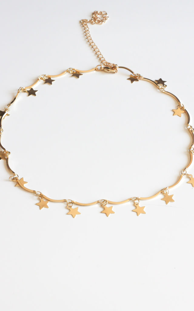 Gold Star Necklace by Free Spirits