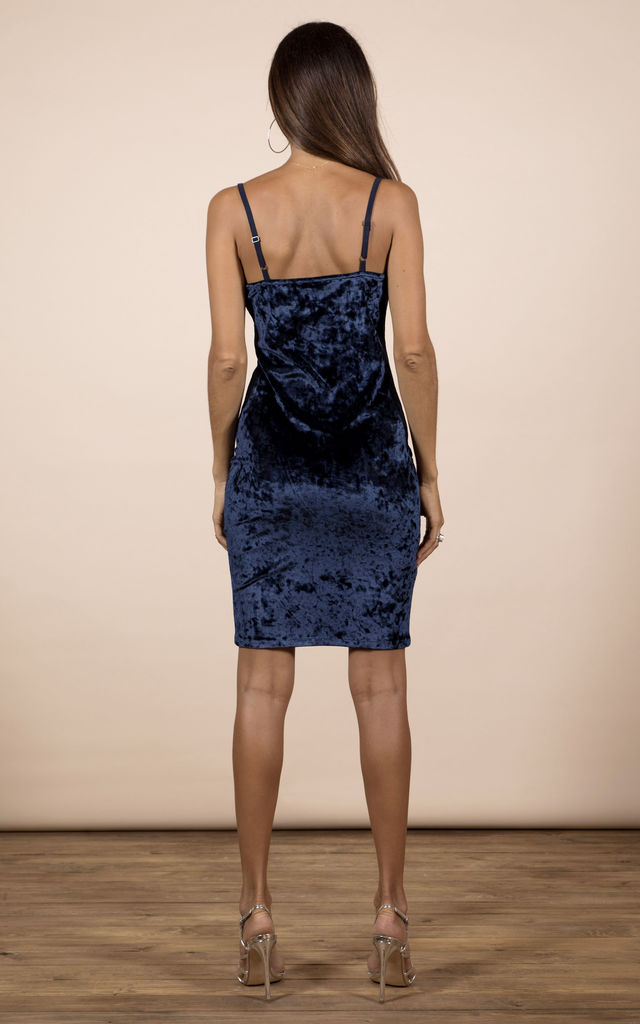 Cici Mini Dress In Navy image