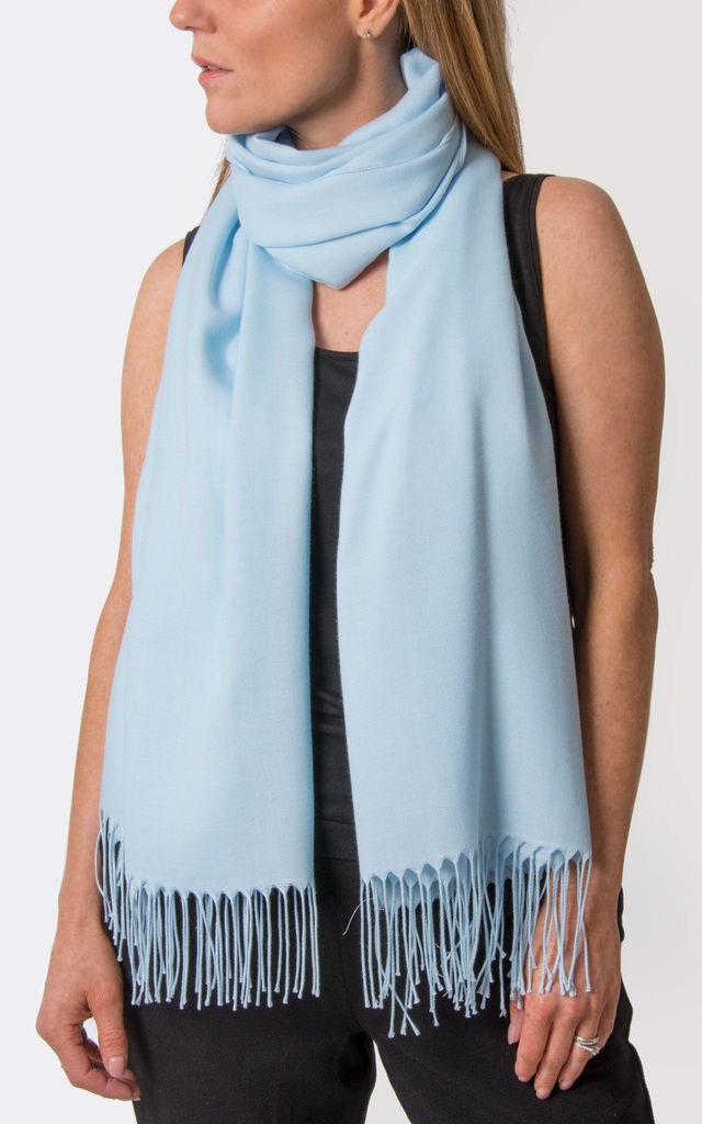 Baby Blue Pashmina by number 37