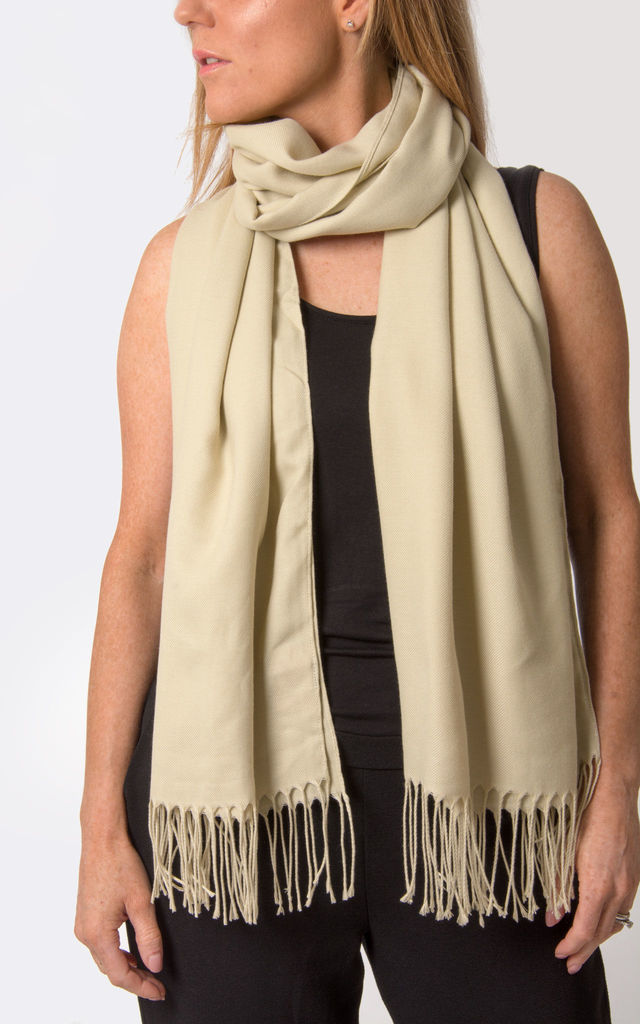 Beige Pashmina by number 37