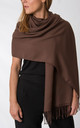 Brown Pashmina by number 37
