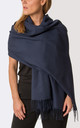 Navy Pashmina by number 37