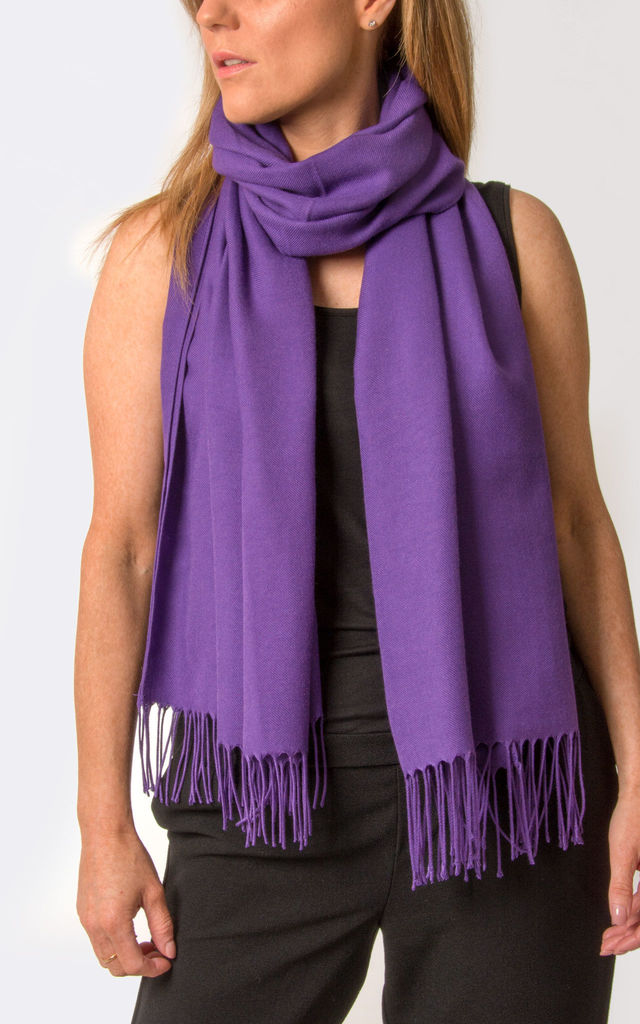 Purple Pashmina by number 37