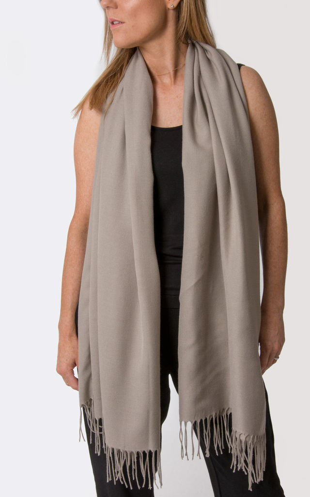 Taupe Pashmina by number 37