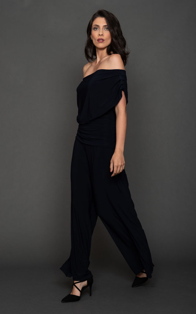 Carbon Jumpsuit Dark Navy by ATOM LABEL