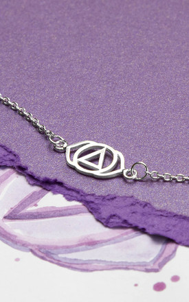 Sterling Silver Third Eye Chakra Bracelet by Martha Jackson Jewellery