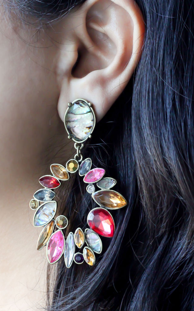 Multi Statement Earrings by Free Spirits