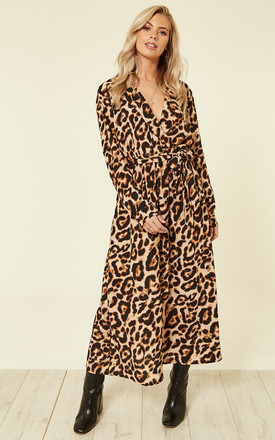 Leopard Print Maxi Dress by ROCK KANDY Product photo