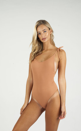 Tulula One Piece In Sand by Larni Swim Product photo