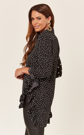Black Polka Dot Mix and Match Shirt by ANGELEYE