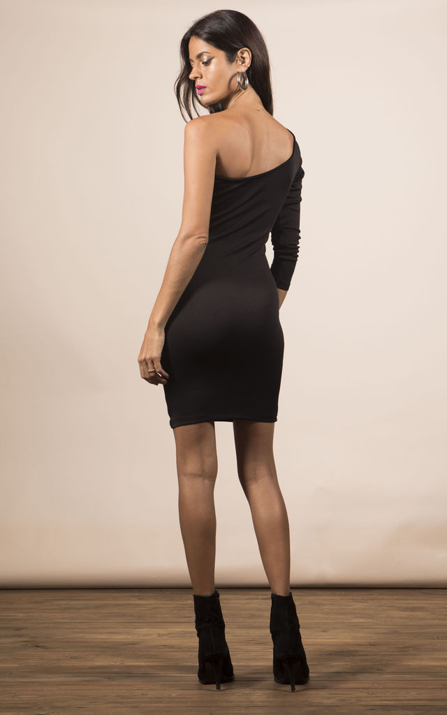 SCARLETT BODYCON DRESS IN BLACK image