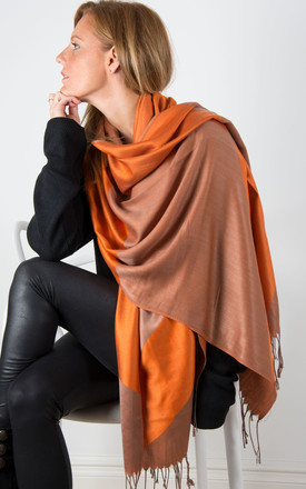 Bronze And Orange Pashmina by number 37