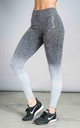 ST Balanced Ombre Leggings Grey Fade by Seeing Thngs
