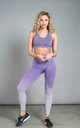 ST Balanced Ombre Leggings Purple Fade by Seeing Thngs