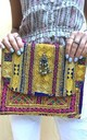 Banjara Square Clutch - 60s vibe by SNAZZY LONDON