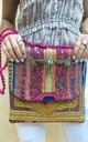 Banjara Square Clutch - Antique Vibes by SNAZZY LONDON