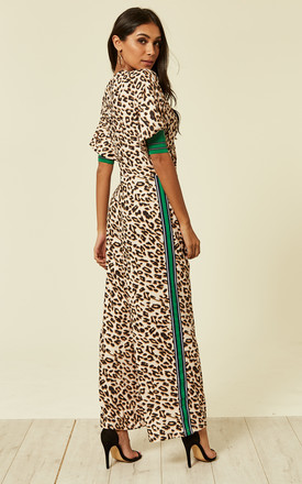 Leopard Print Jumpsuit by Liquorish