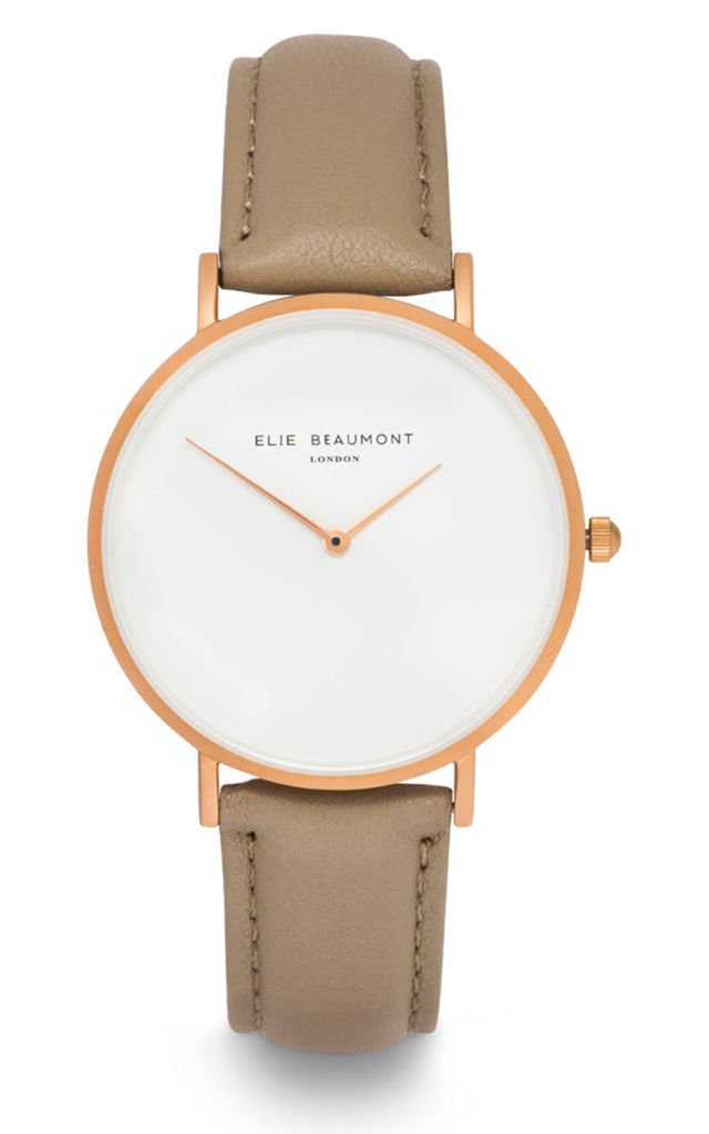 Hoxton Cappucino Watch by Elie Beaumont