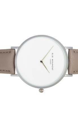 Hoxton Light Grey Watch by Elie Beaumont