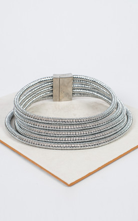 The Silver Egyptian Choker Statement Necklace by Collections by Hayley