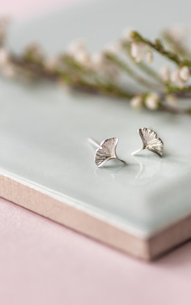 Sterling Silver Sound Of The Sea Earrings by Collections by Hayley