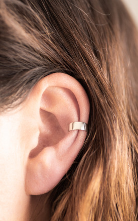 Ear Cuff in Sterling Silver by Collections by Hayley