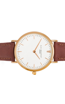 Oxford Small Dusty Rose Watch by Elie Beaumont