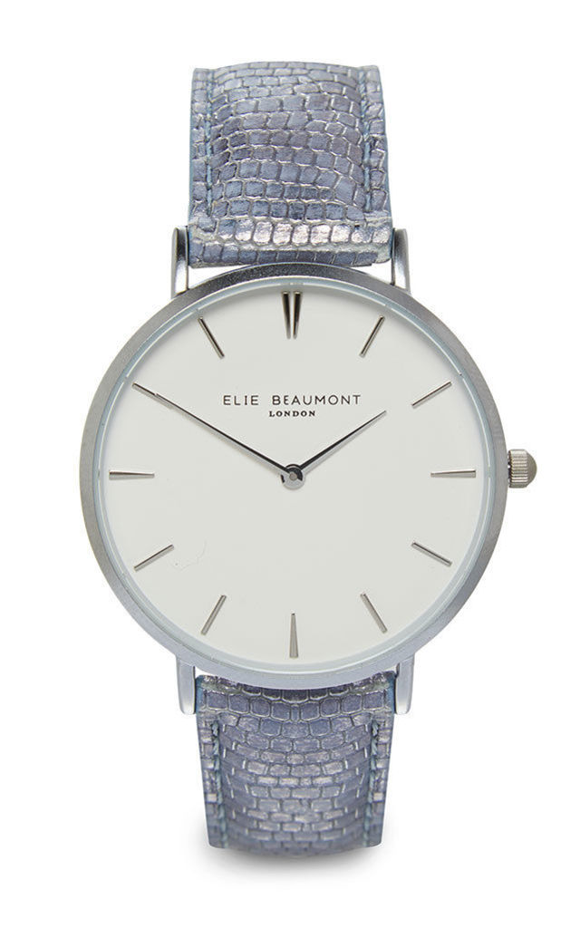Sloane Blue Watch by Elie Beaumont
