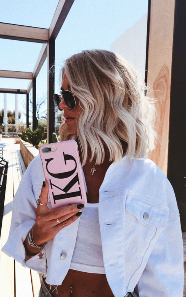 The Personalised Initials Phone Case - Dusky Pink Edition by NIEVUS