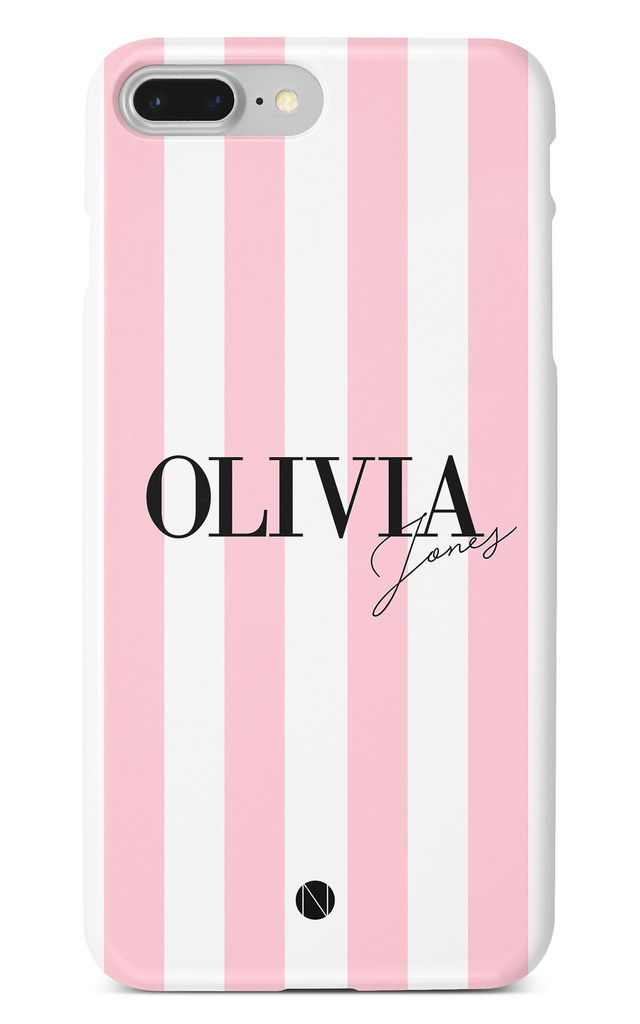 The Personalised Signature Phone Case - Pink Edition by NIEVUS