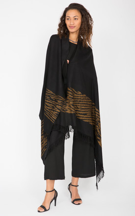 Handwoven Merino Oversize Tiger by likemary