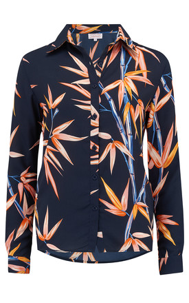 San Diego Shirt in Bamboo Print by Dancing Leopard
