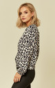 Leopard print jacket by Lanti