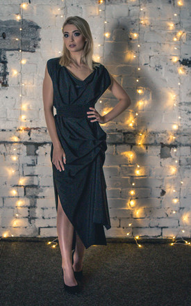 Black Willow Maxi Dress by Blonde And Wise
