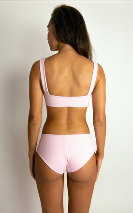 MALIBU BIKINI BOTTOM // SHERBET PINK by NOVAH SWIMWEAR